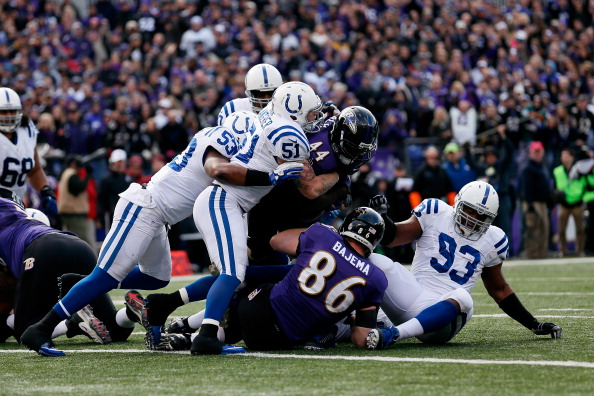 Colts Can't Get Past Ravens; Season Ends With 24-9 Loss In Balt…