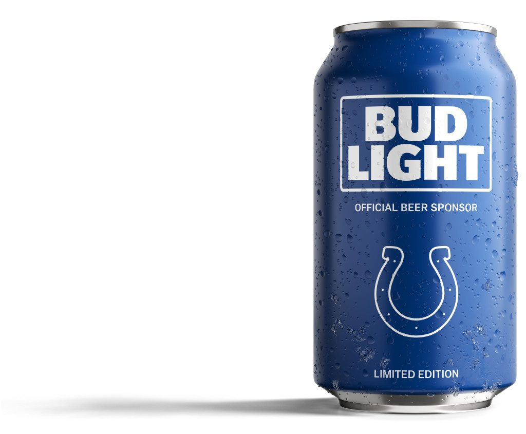Bud Light Colts Can