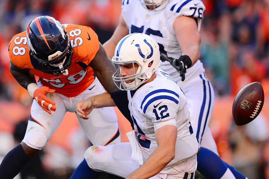 Colts Fall Short in Denver Against Champion Broncos 34-20